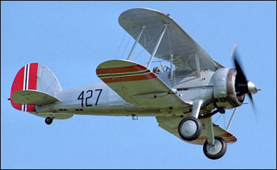 Image of a Gloster Gladiator