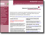 The Institute of Actuaries website